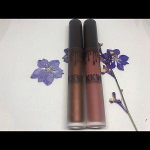 Kkw X Kylie gloss & velvet liquid lipstick ✨